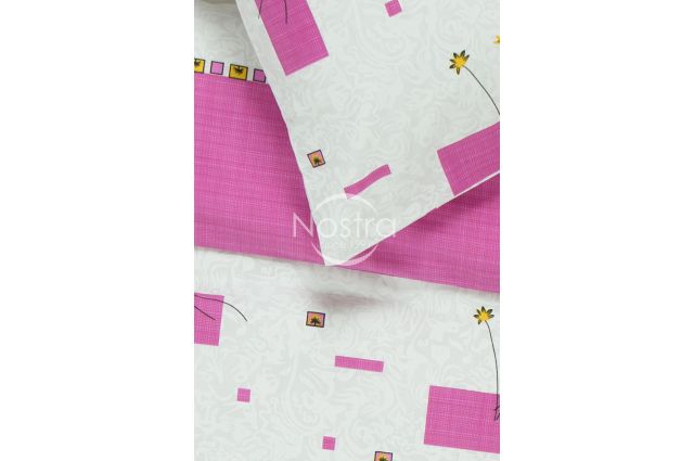 mišraus pluošto balta patalyne su rozinem gelem