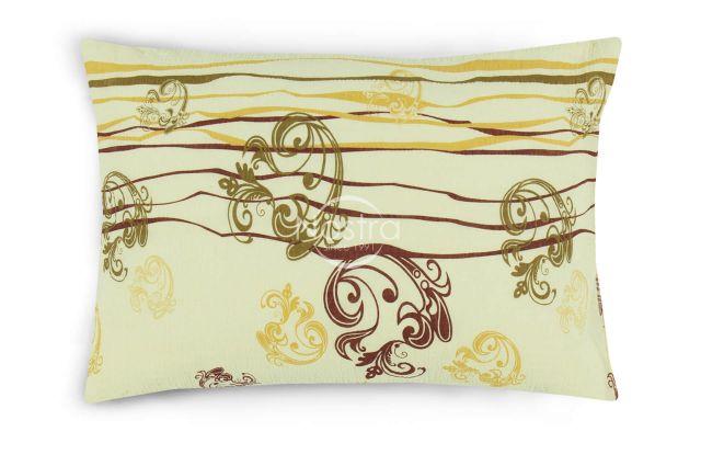 sviesi glamzyto audinio patalyne su ornamentais