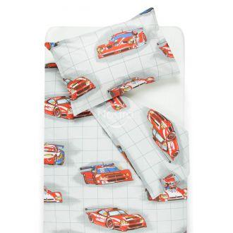Детское постельное белье RACING CARS 10-0360-RED