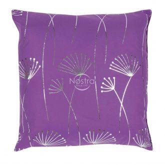 Pillow METALIC 70-0017-VIOLET/SILVER