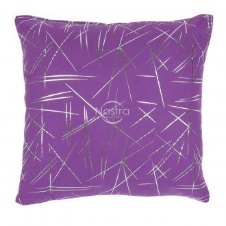 Pillow METALIC 70-0018-VIOLET/SILVER