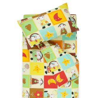 Детское постельное белье HAPPY DAYS 10-0427-BROWN