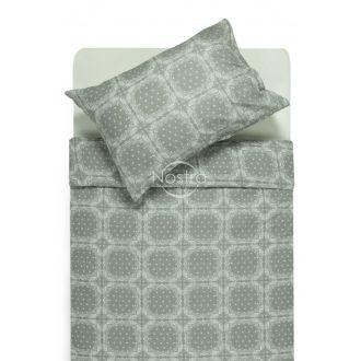 Flannel bedding set BRIANA 40-1045-GREY
