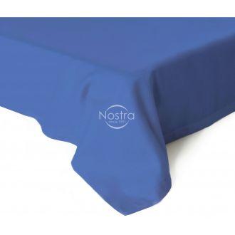 Атласные простыни без резинки 00-0271-BLUE