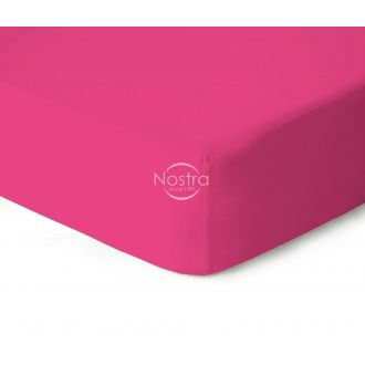 Fitted jersey sheets JERSEY-FUCHSIA