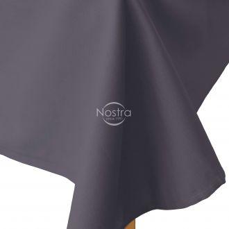 Flat cotton sheet 00-0240-IRON GREY