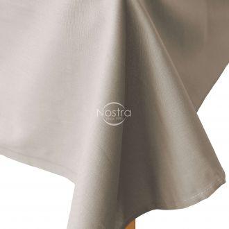 Flat cotton sheet 00-0307-L.CACAO