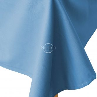 Flat cotton sheet 00-0022-L.BLUE
