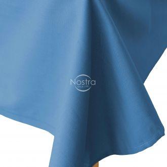 Flat cotton sheet 00-0236-LT.NAVY