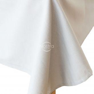 White cotton sheet 00-0000-OPT.WHITE