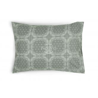 Flannel pillow cases with zipper 40-1045-GREY