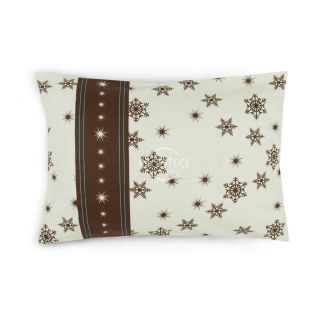 Flannel pillow cases with zipper 40-0996-BROWN