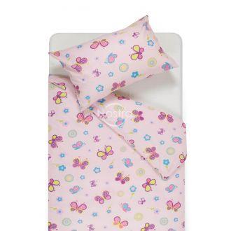 Детское постельное белье SPRING & BUTTERFLIES 10-0435-ROSA