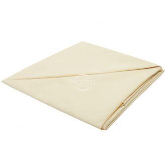 Jacquard sateen tablecloth 80-0006-L. CREAM