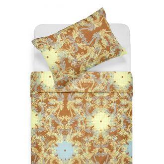 Постельное белье из Mako Сатина CAROLINE 40-0631-YELLOW