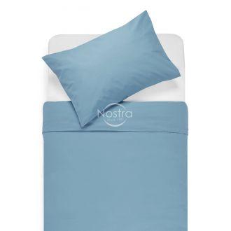 Cotton bedding set DOTTY 00-0022-L.BLUE