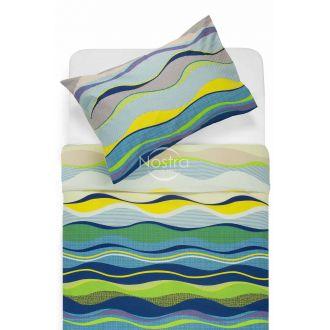 Постельное бельё из ситца NICOLE 40-1006-BLUE