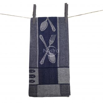 Kitchen towel WAFEL-240 T0018-NAVY