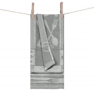 Kitchen towel WAFEL-240 T0018-S.GREY WH