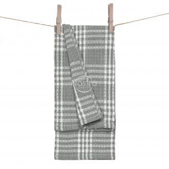 Kitchen towel WAFEL-240 T0101-GREY