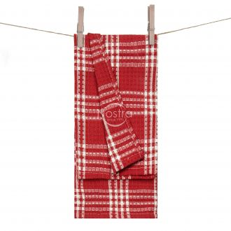 Kitchen towel WAFEL-240 T0101-RED