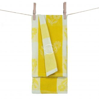 Kitchen towel WAFEL-240 T0102-YELLOW