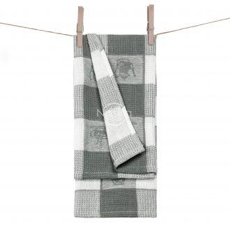 Kitchen towel WAFEL-240 T0103-GREY
