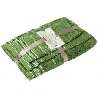 3 dalių rankšluosčių komplektas T0044 T0044-GREEN D28