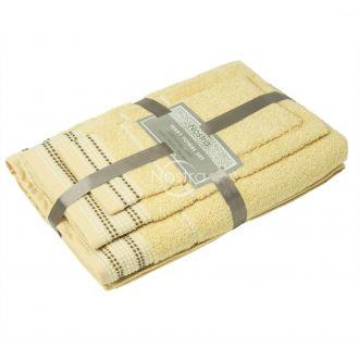 3 dalių rankšluosčių komplektas T0044 T0044-L.YELLOW