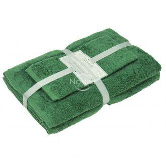 3 pieces towel set 380 ZT 380 ZT-PINE GREEN