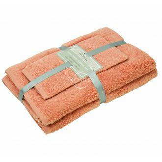 3 pieces towel set 380 ZT 380 ZT-GRAPEFRUIT