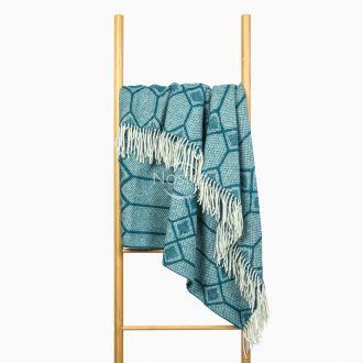 Woolen plaid MERINO-300 80-3238-MARINE