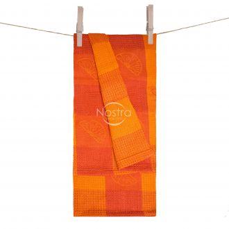 Kitchen towel WAFEL-240 T0104-YELLOW