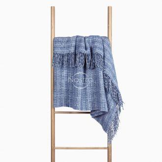 Woolen plaid MERINO-300 80-3224-BLUE