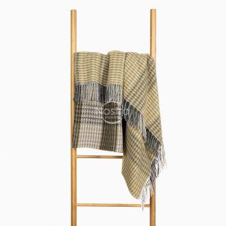 Woolen plaid MERINO-300 80-3192-KHAKI
