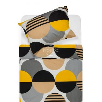 Cotton bedding set DALLAS 30-0579-BROWN