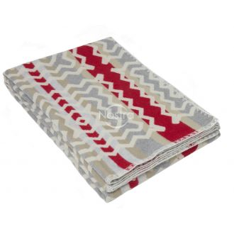 Cotton plaid SUMMER 80-2033-GREY RED