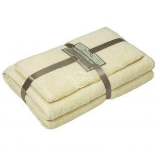Bambukinių rankšluosčių komplektas BAMBOO-600 T0105-VANILLA