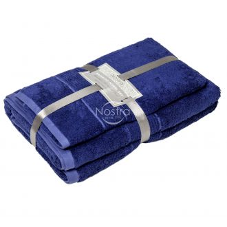 Бамбуковые набор полотенец BAMBOO-600 T0105-BLUEMARINE