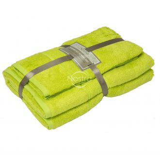 Bamboo towels set BAMBOO-600 T0105-APPLE GREEN