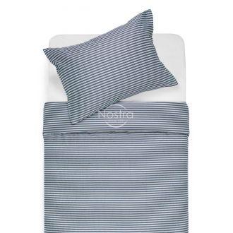Sateen bedding set ADRIAN 30-0545-STONE BLUE
