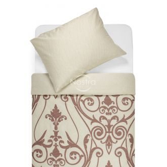 Sateen bedding set ADSILA 40-1178/40-1179-CREAM