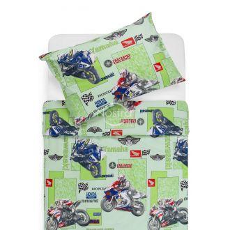 Детское постельное белье MOTORBIKE 10-0166-GREEN