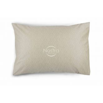 Sateen pillow cases with zipper 40-1179-CREAM
