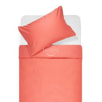 Premium maco sateen bedding set CAMILA 00-0282-HOT CORAL