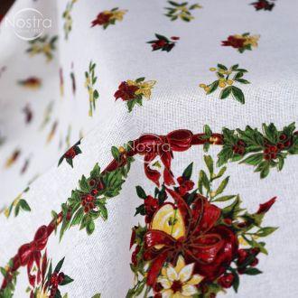 Скатерть хлопчатобумажная 40-0329-WHITE