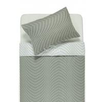 flaneline medvilnine dvipuse pilka balta patalyne su taskais