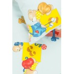 vaikiska medvilnine melyna patalyne su meskiukais