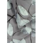 satinine medvilnine pilka patalyne su lapais