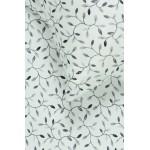 satinine medvilnine balta patalyne su lapais